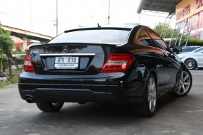 2012 MERCEDES BENZ C180 COUPE AMG W204