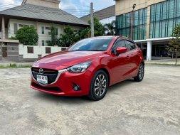 รถปี 2016 MAZDA2 1.5XD Skyactive High Plus สีแดง