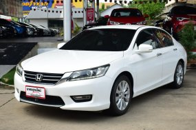 2013 Honda ACCORD 2.0 EL NAVI รถเก๋ง 4 ประตู ดาวน์0 ดอกเบี้ยถูก