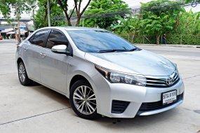 Toyota Altis 1.6 G ปี 2016 ฟรีดาวน์ ผ่อนเพียง 6,443