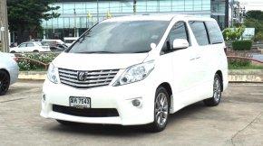 ขายรถมือสอง 2012 Toyota ALPHARD 2.4 V VAN AT