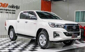 🔥ฟรีทุกค่าดำเนินการ🔥 ขายรถ Toyota Hilux Revo 2.4 E ปี2018 รถกระบะ