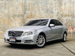 2012 Mercedes-Benz E250 CGI 1.8 Elegance รถเก๋ง 4 ประตู ดาวน์ 0%